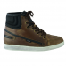 STREETTEK MOTORCYCLE SNEAKERS - BROWN